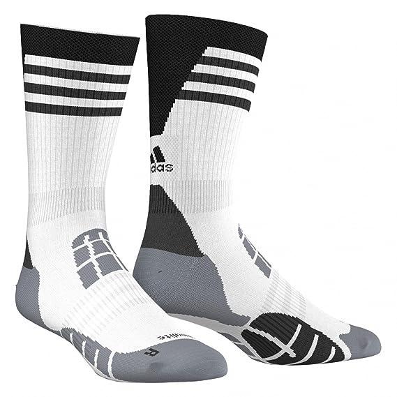 adidas Hombre Climalite Calcetines Bianco, 34-36: Amazon.es: Ropa y accesorios