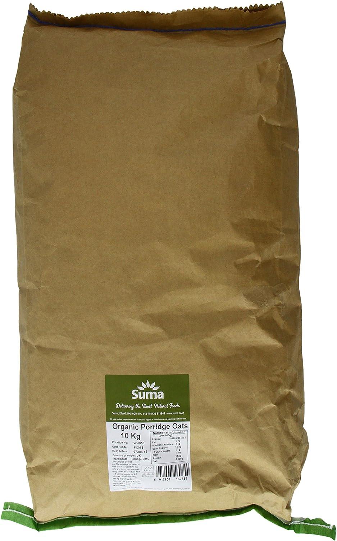 Suma Organic Oats Porridge 10kg