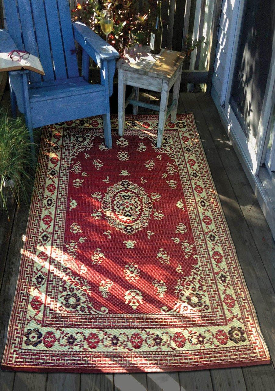 Amazon.com: Mad Mats floral interior/exterior Floor Mat ...