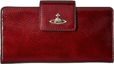 Wallet for Women, Dark Bordeaux, Leather, 2017, One size Vivienne Westwood