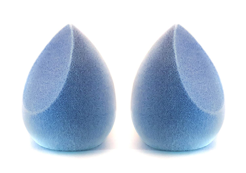 Microfibra de maquillaje esponja, Dual Layer Micro Fiber Make Up Sponge Isabell Oltmann