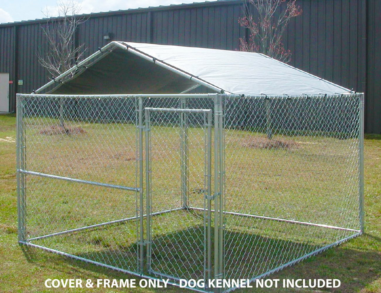 Dog Kennel COVER 10 X 10 Outdoor Roof Pet Pen Cage Fence Large Shade COVER