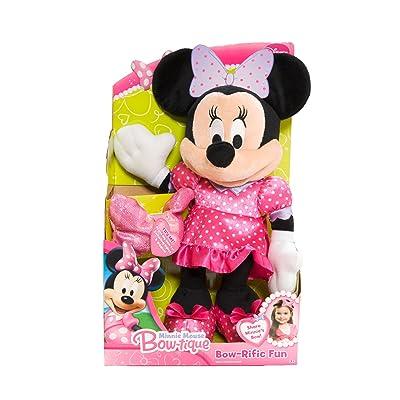 Disney Minnie Bowtique Bowrific Plush: Toys & Games