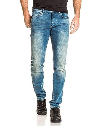 Petrol Industries - Jog Stretch Jeans Faded Blue Man - Color  Blue ... 6f02abf5dd3