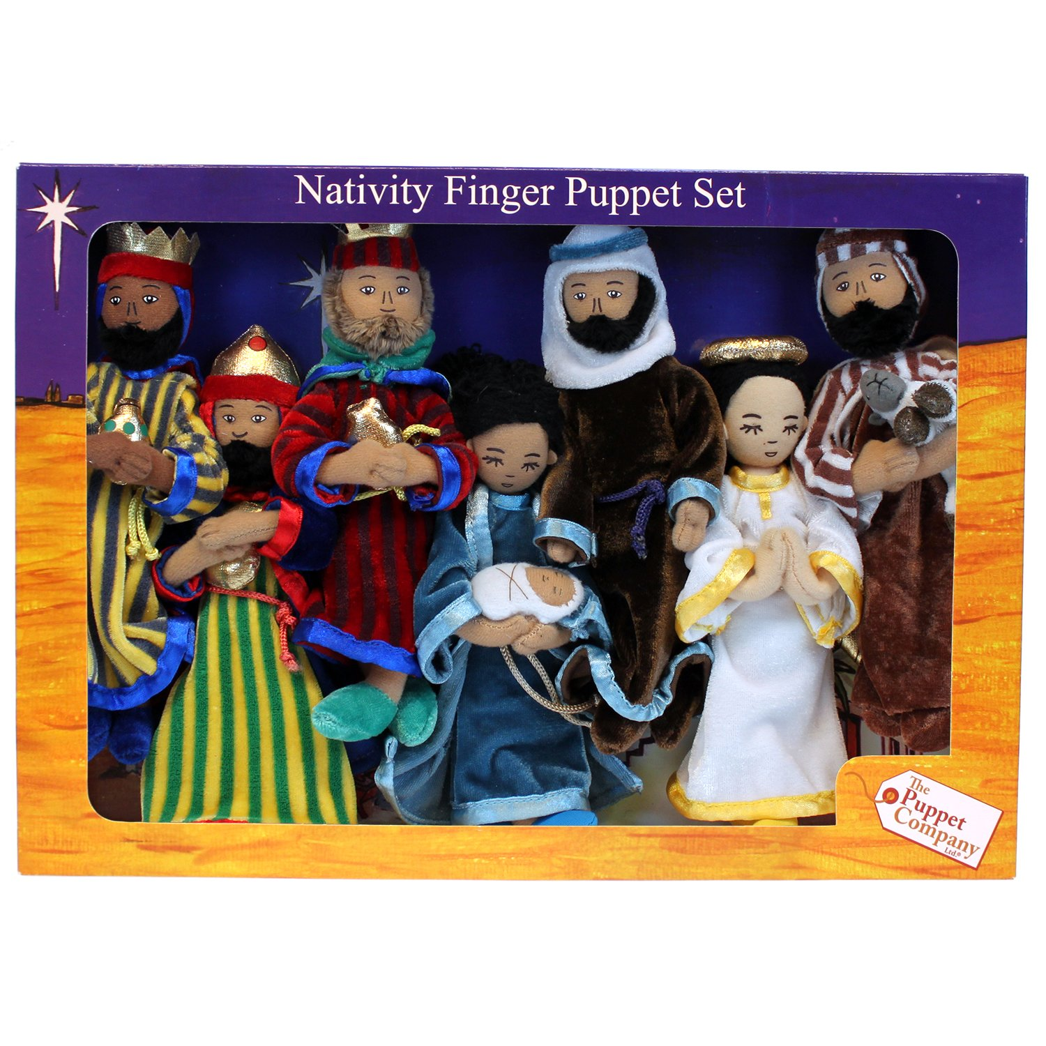 The Puppet Company - Christmas Collection - Nativity Finger Puppet Set [Toy]
