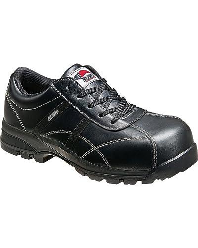 Avenger Women s Oxford Work Shoes Composite Toe Black 7.5 EE US 0d599cd055