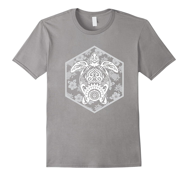 Honu hawaii tribal shirt maui turtle tattoo t shirt art for Maui shirt tattoo