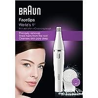Braun Face 810 Facial epilator & facial cleansing brush with micro-oscillations
