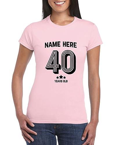 40th Birthday T Shirt For Women