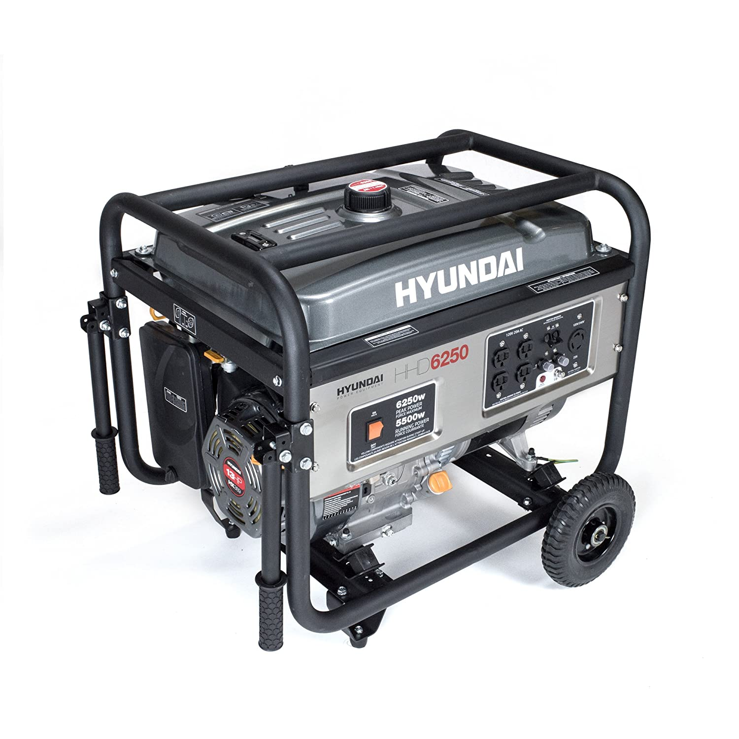 Amazon Hyundai HHD6250 6250 Watt 4 Stroke Portable Heavy