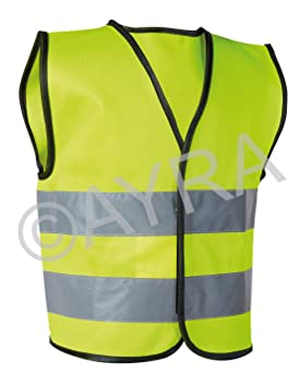 7a03d62e2 High Visibility Childrens Safety Vest Waistcoat Jacket Small (4 - 6 ...