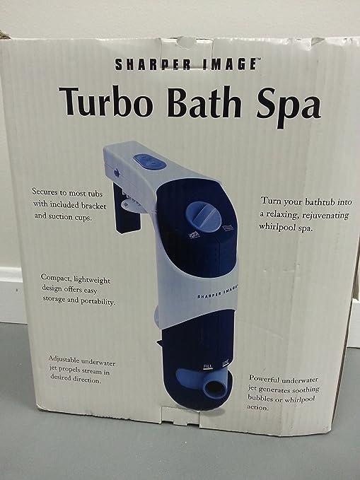 Amazon.com : The Sharper Image Turbo Bath Spa CA820 : Bubble Baths ...