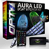 OPT7 Boat Interior Glow LED Lighting Kit | Multi-Color Accent Neon Strips w/Switch
