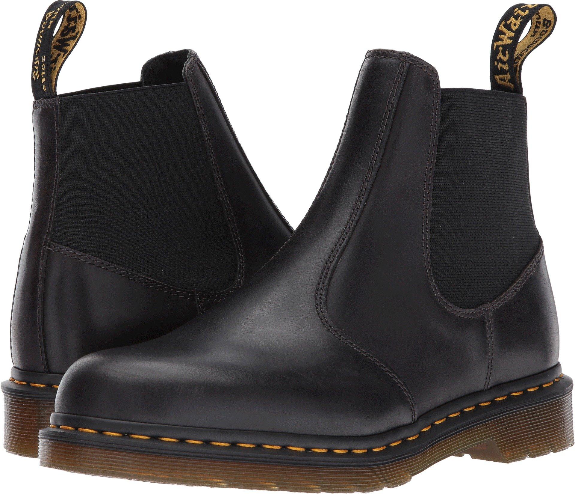 Dr. Martens Men's Hardy Grey Chelsea Boot, Gunmetal, 10 Medium UK (11 US)