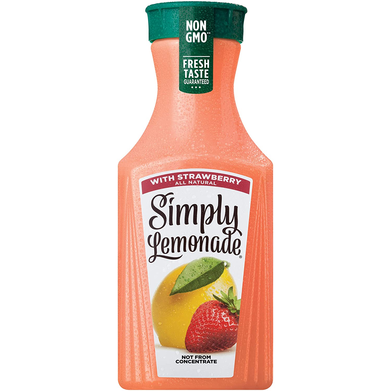 Simply Lemonade with Strawberry, All Natural Non-GMO, 52 fl oz