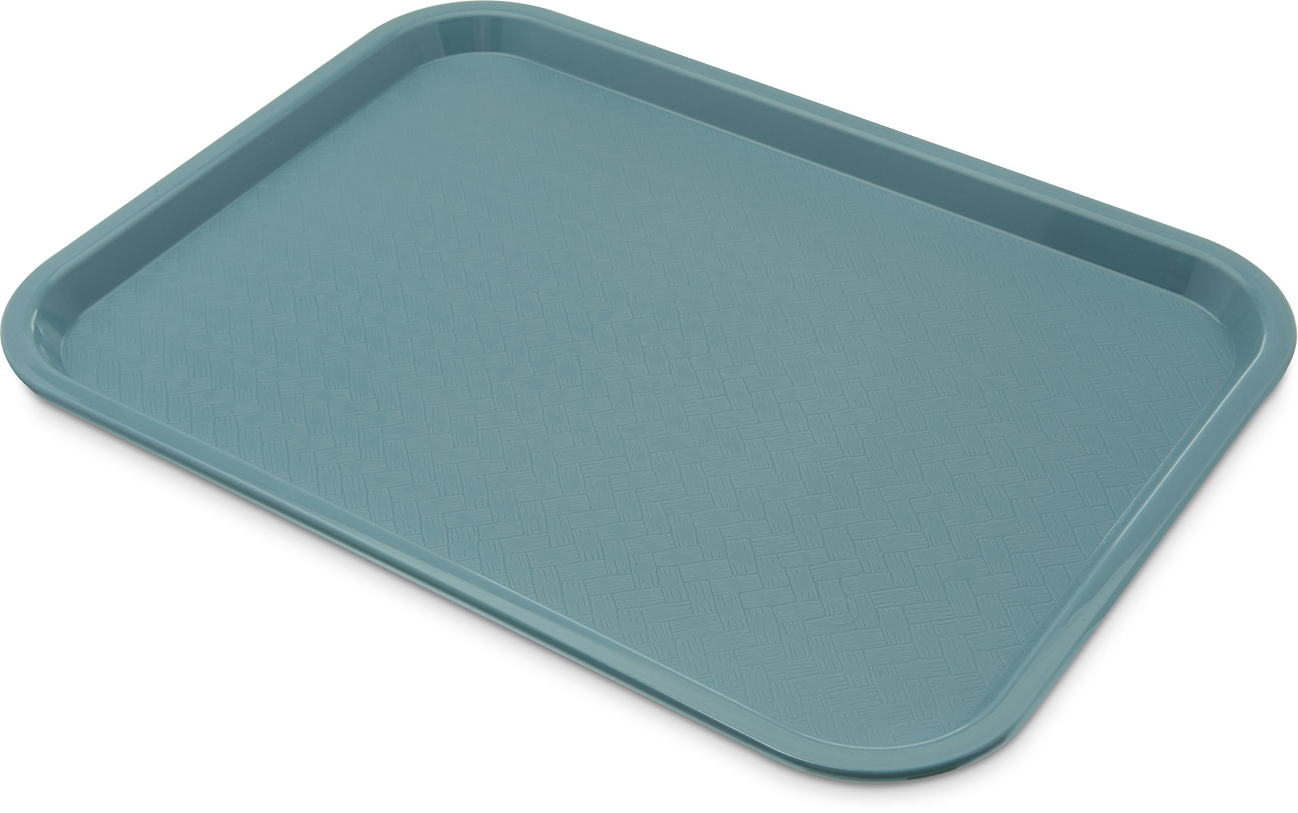 Carlisle CT121659 Café Standard Cafeteria / Fast Food Tray, 12'' x 16'', Slate Blue (Pack of 24)