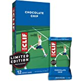 CLIF BAR - Energy Bars - Chocolate Chip - (2.4 Ounce Protein Bars, 12 Count) (Packaging May Vary)