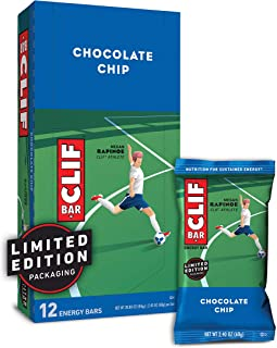 product image for CLIF BAR - Energy Bars - Chocolate Chip - (2.4 Ounce Protein Bars, 12 Count) Packaging May Vary