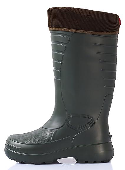 cheap for discount 142e2 0c275 Lemigo Lightweight EVA Thermo Rubber Wellington Boots Grenlander 862