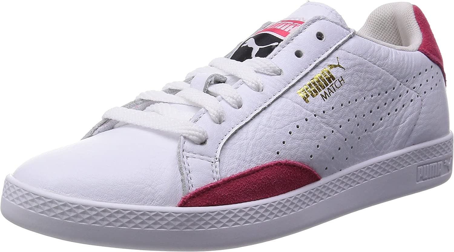 Puma Match Lo Basic Sports w 35754301, Baskets Mode Femme