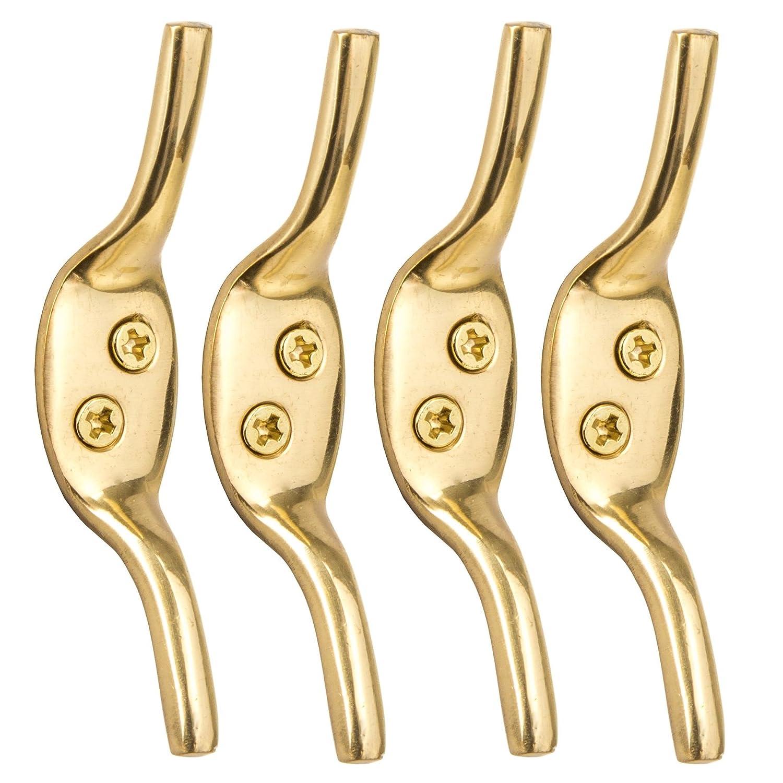 4x Solid Brass 3