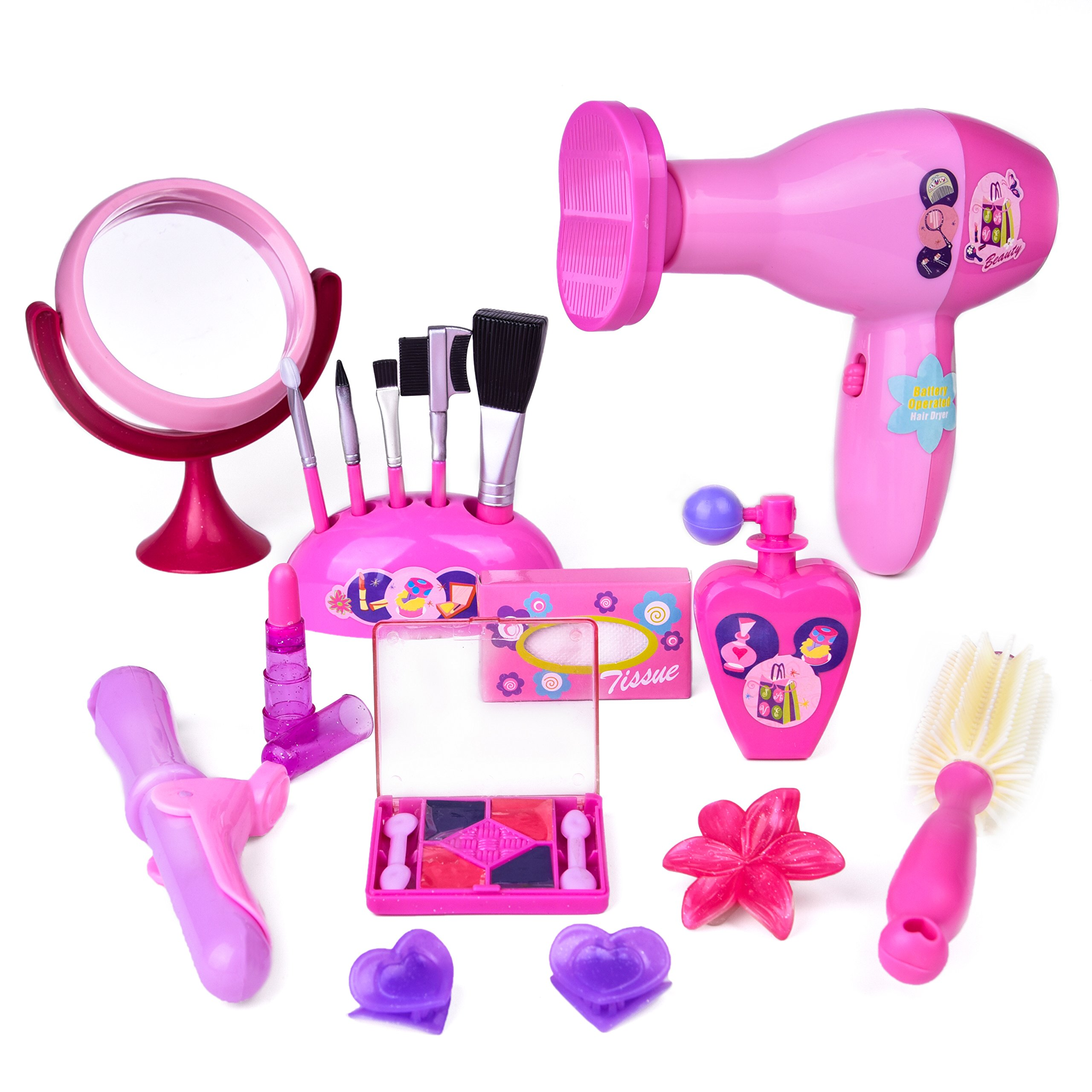 70c886631 Galleon Fun Little Toys Pretend Makeup For Girls Kids Play Kit Toddlers Toy  Set 3 Year