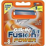 ジレット 髭剃り フュージョン 5+1 パワー
