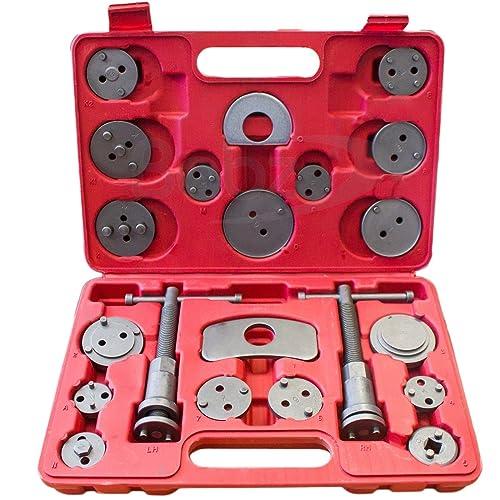 Babz 22 34 Universal Brake Caliper Piston Rewind Kit Wind Back Tool Car Vehicle