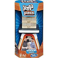 Hasbro Gaming Jenga Pass Challenge, Ages 8 and Up, For 2 Or More Players