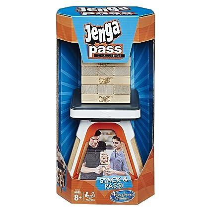Amazoncom Jenga Pass Challenge Toys Games