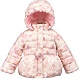 COTTON FAIRY Baby Girl Jacket Winter Clothes Star Print Hoodie Coat
