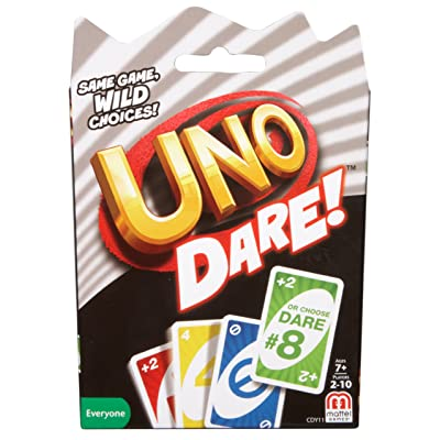 Mattel Games CDY11 UNO: Dare - Card Game: Toys & Games