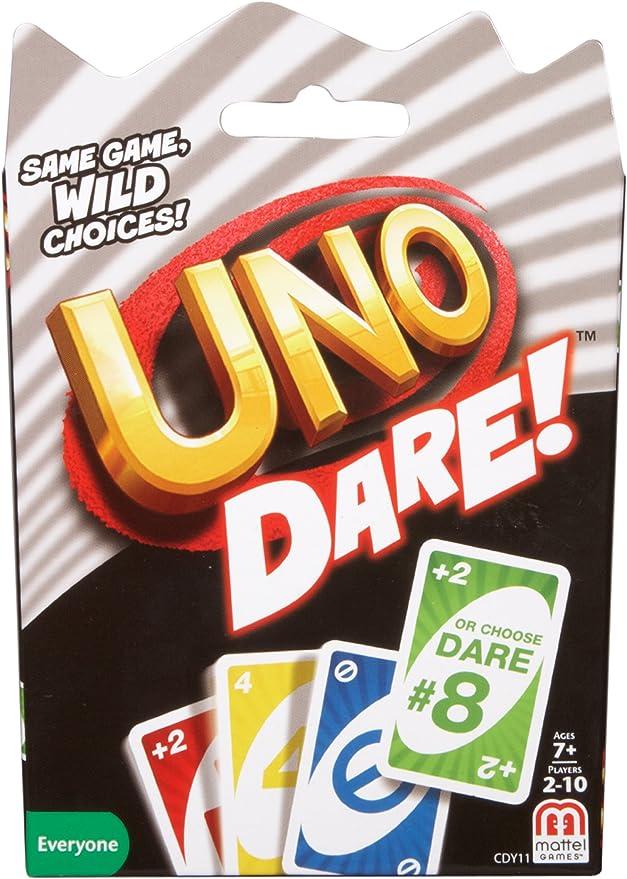 Mattel Games Games-784311735799 Dare - Juego de Cartas, Multicolor (CDY11): Mattel: Amazon.es: Juguetes y juegos