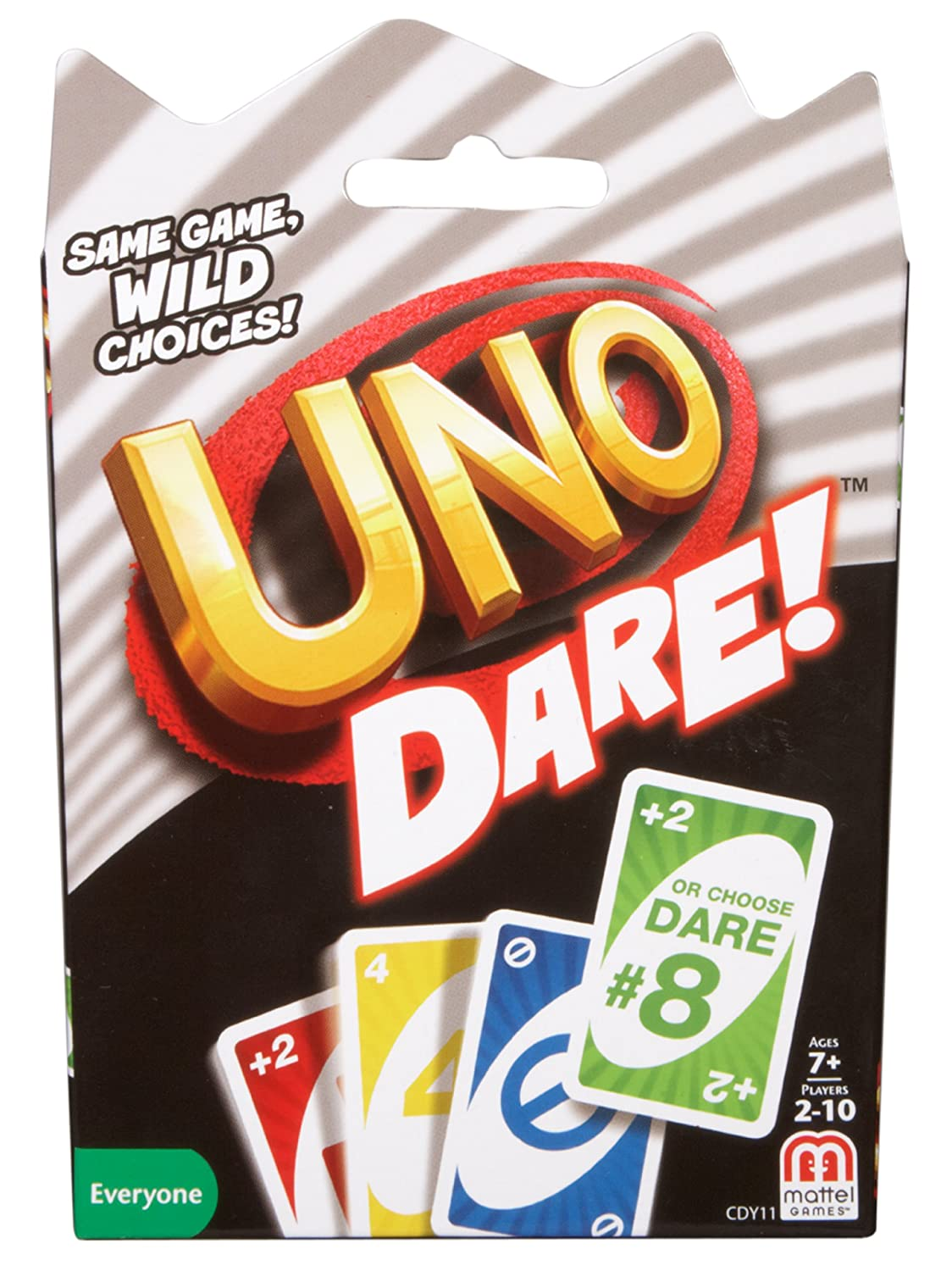Mattel Games UNO Dare Card Game