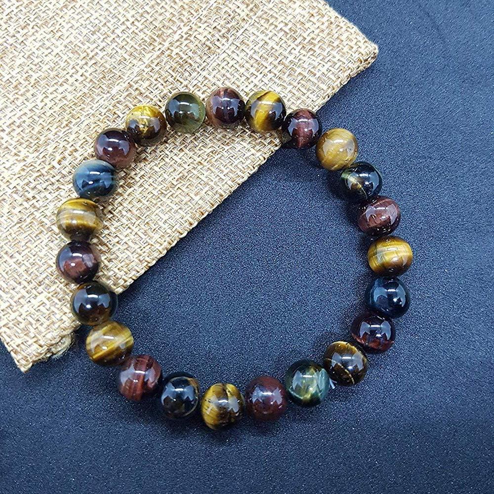 Pochette Falcon Oeil de Tigre Taureau Offerte UEUC Yoga Protection Triple Bracelet Pierre Protection