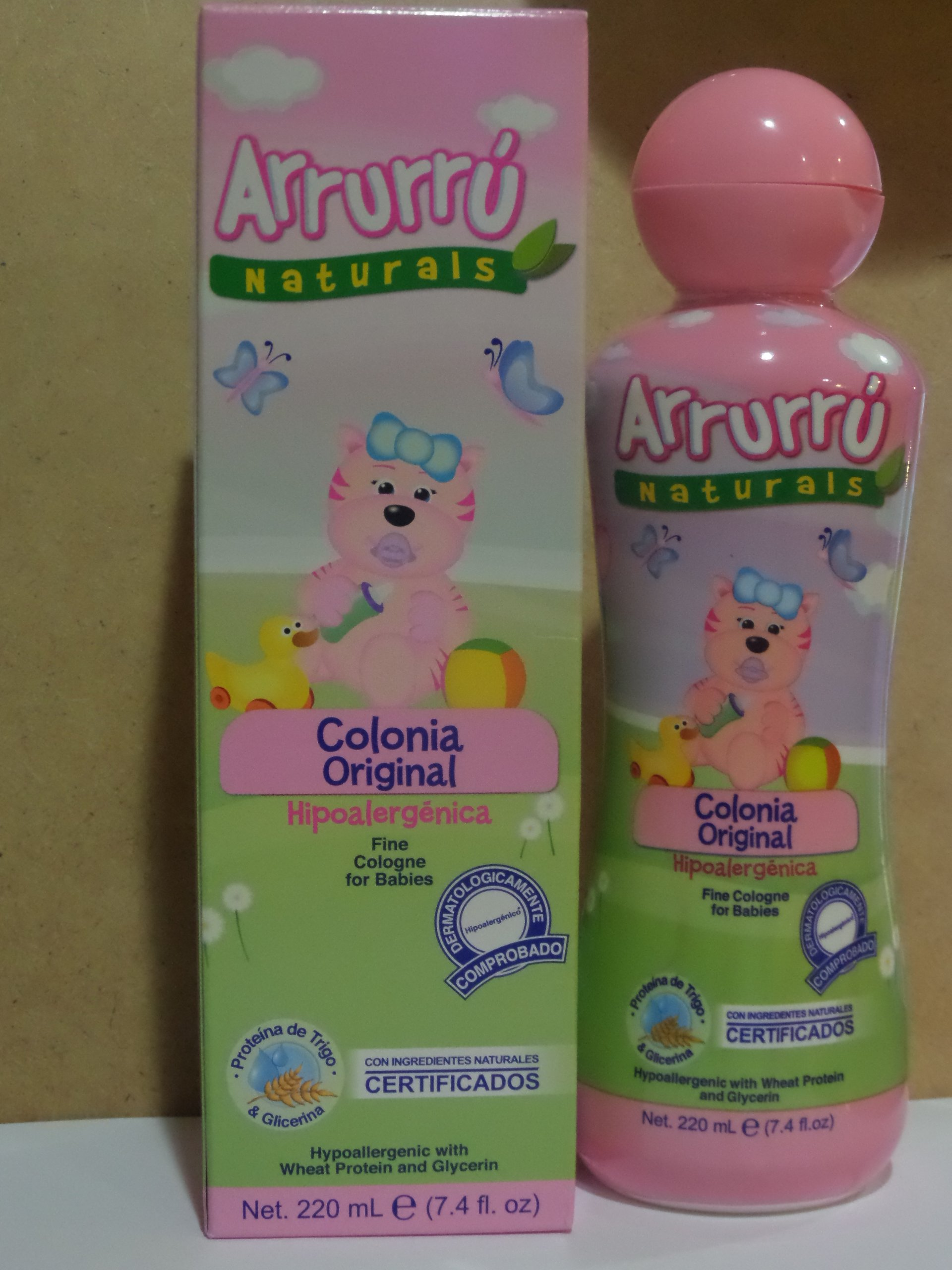 Arrurru Naturals Fine Baby Cologne for Girls/Arrurru Colonia Original Ninas 7.4oz