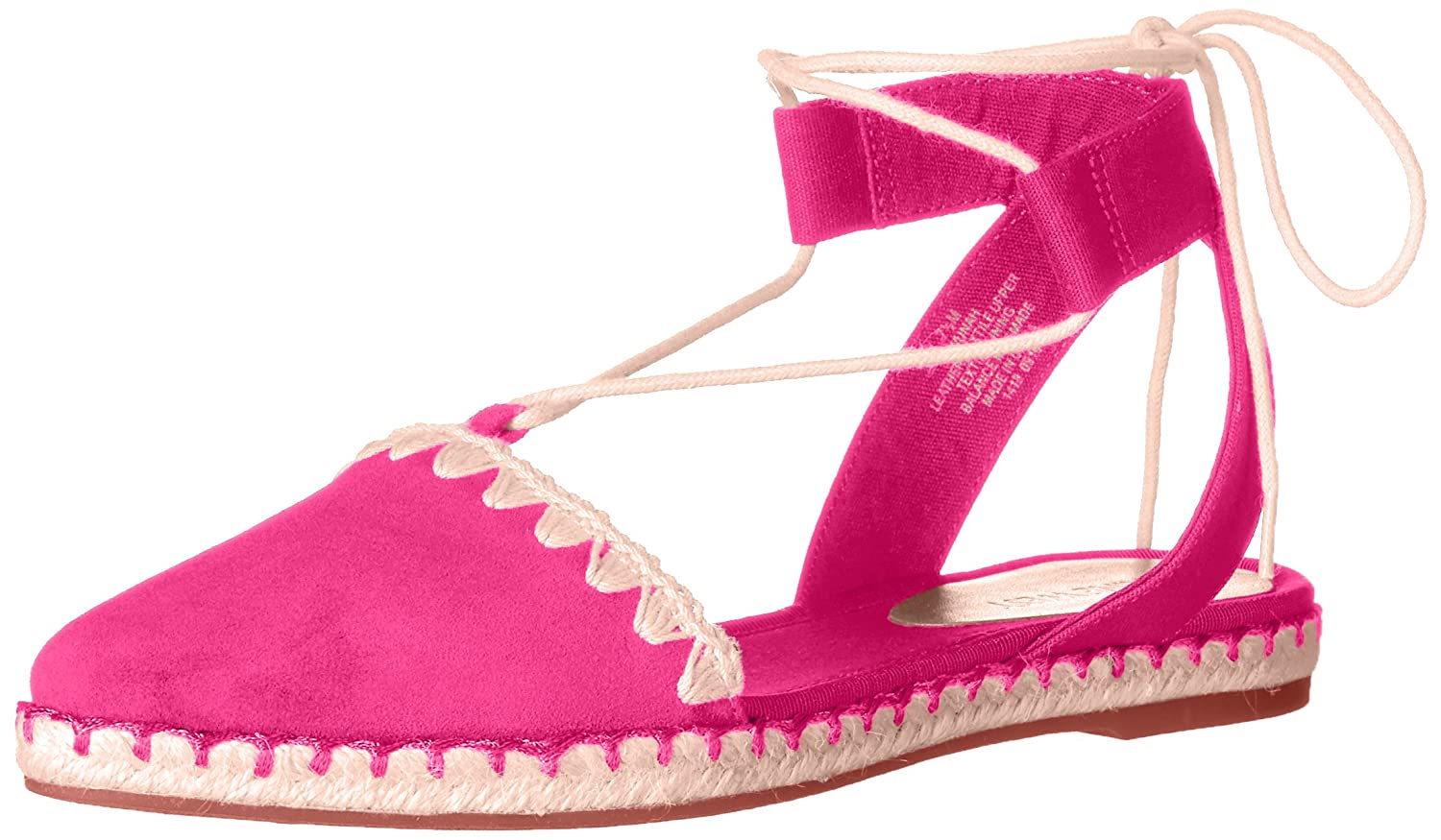 Nine West Women's Unah Suede Pointed Toe Flat B01LX6E1EF 5.5 B(M) US|Pink