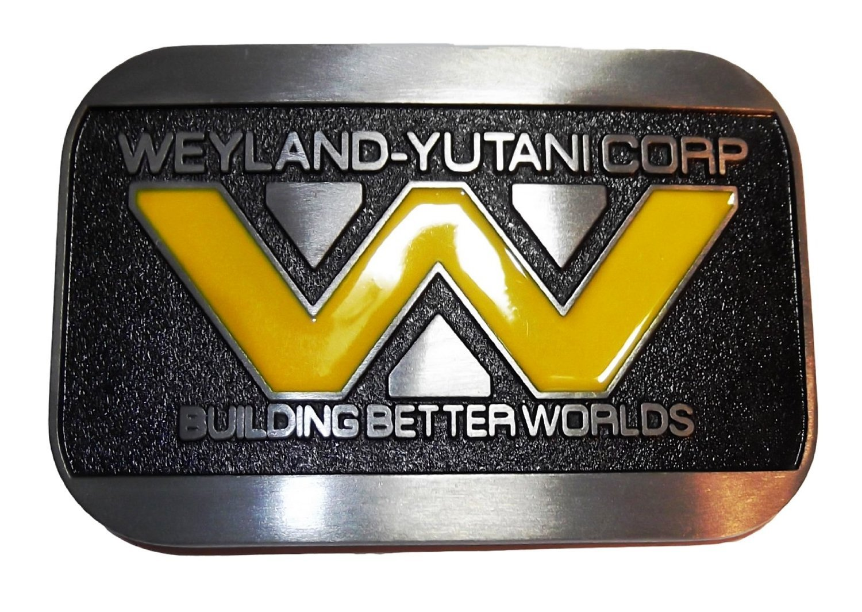 Patch Nation Weyland-Yutani Corp de Construction Meilleure Mondes Boucle de Ceinture