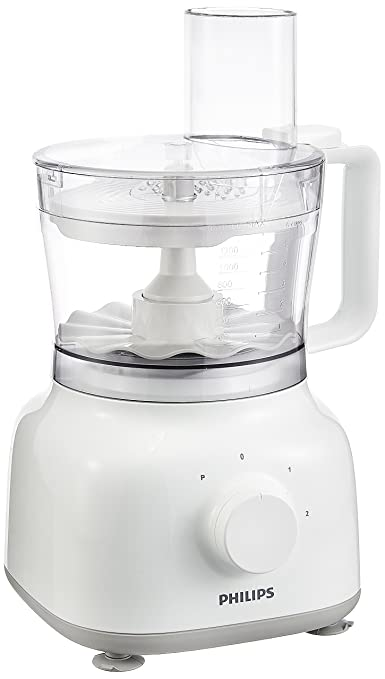 (CERTIFIED REFURBISHED) Philips Daily Collection HR7628/00 650-Watt Mini Food Processor (White) Food Processors at amazon
