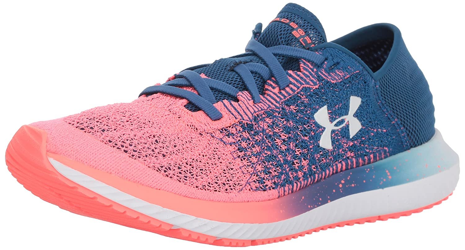 Under Armour Women's Threadborne Blur Running Shoe B071L7MZBB 9 M US|Moroccan Blue (401)/Brilliance
