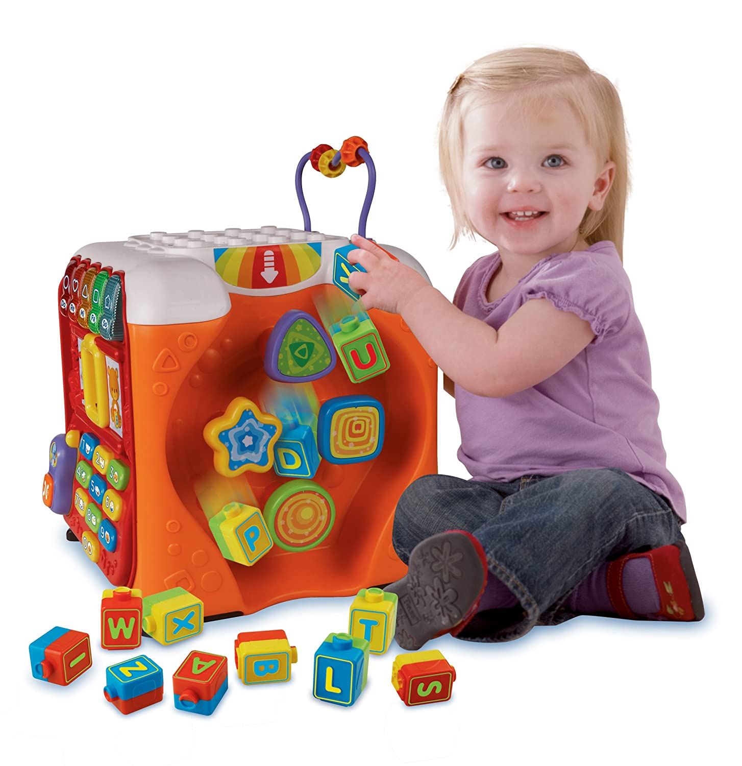 VTech Alphabet Activity Cube Électronique éducative Amazon Canada