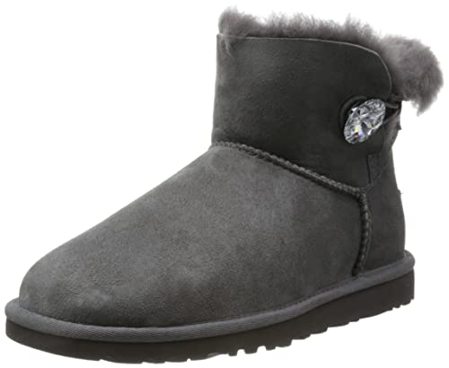 e372ba4a4f8 UGG Women's Mini Bailey Button Bling Ankle Boots