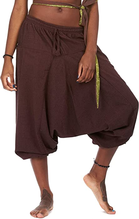 b3b80edfba Fleece Lined Ali Baba Trousers, Warm Harem Pants, Winter Ali Baba Pants,  Hippy Hippie Pants, Festival Trousers, Winter PSY Trance Clothing (S, ...