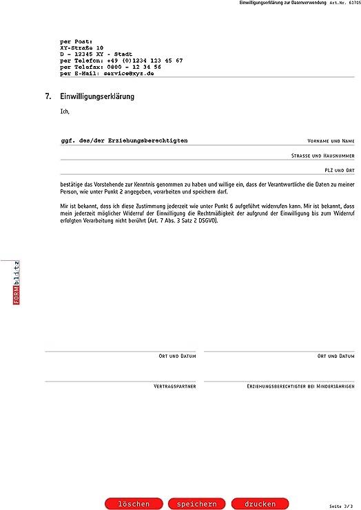 Einwilligung Verwendung Mitarbeiterfotos Muster Zum Download 2