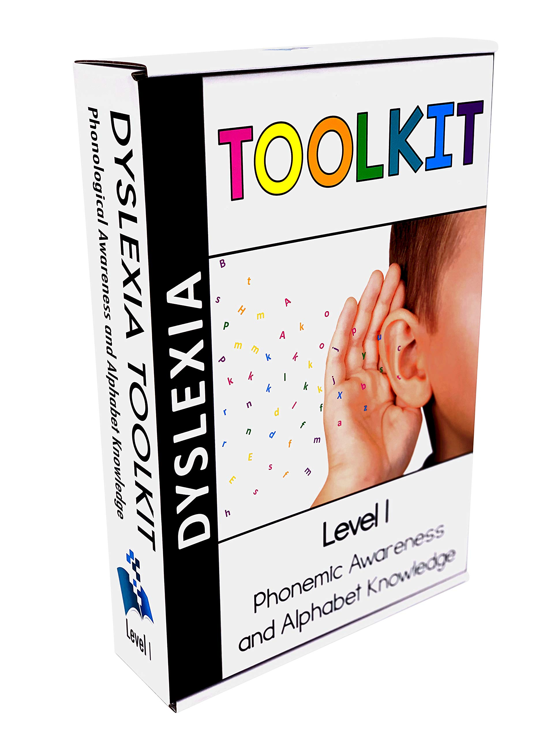 Dyslexia Toolkit | Best Tool Kit for Teaching Kids Phonemic Awareness & Alphabet Knowledge | Flash Cards, Games & Book for Home & School | Preschool, Kindergarten, 1st Grade & Up Reading Curriculum
