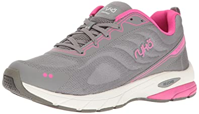 RYKA Women's Kindred Running Shoe, Grey/Pink, ...