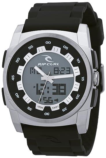Rip Curl A2453_544 - Reloj analógico y digital de cuarzo para hombre con correa de plástico, color negro: Amazon.es: Relojes
