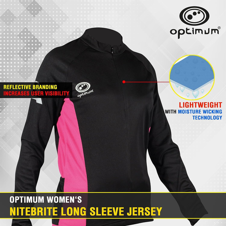 Optimum Women's Nitebrite Cycling Long Sleeve Jersey