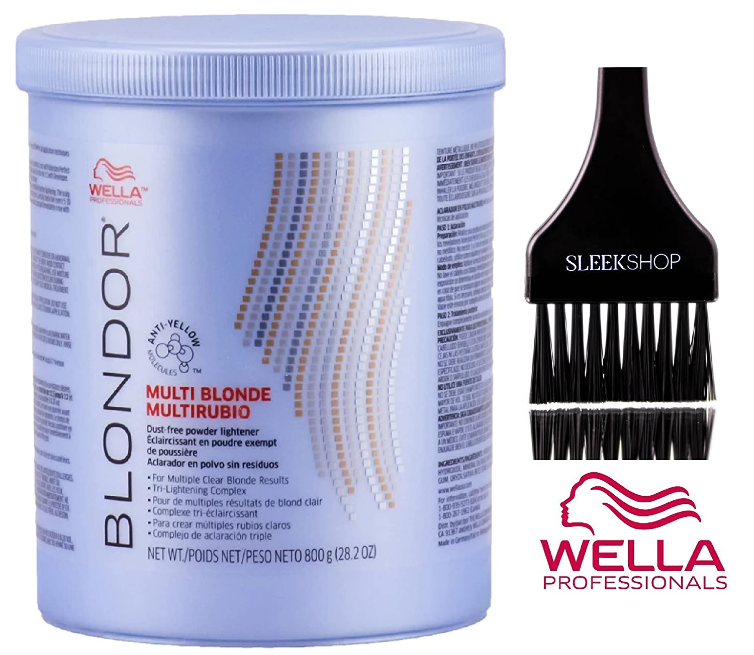 Amazoncom Wella Blondor Multi Blonde Dust Free Powder Lightener