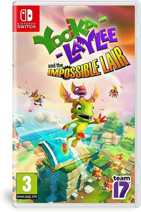 Yooka-Laylee: The Impossible Lair [Importación francesa]: Amazon ...